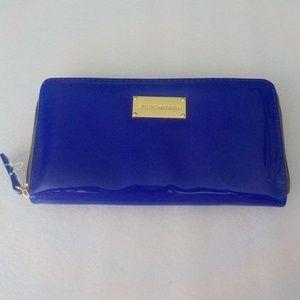 Steve Madden Very Shiny Purple/Blue Wallet NWOT